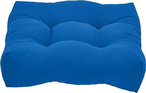 Amazon Basics Tufted Outdoor Seat Patio Cushion