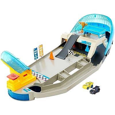 Disney Pixar Cars Mini Racers Rollin' Raceway Playset: Toys & Games