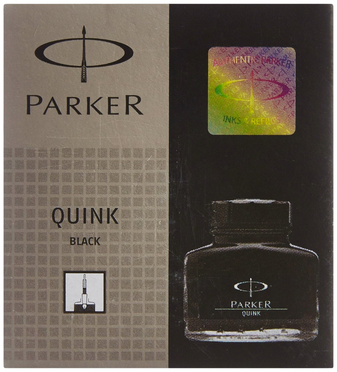 Parker Quink Ink Bottle (Black)