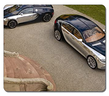VUTTOO Gaming Mouse Pad Bugatti 16 C Galibier 1286 Large Oblong Shaped  Natural Eco Rubber Durable