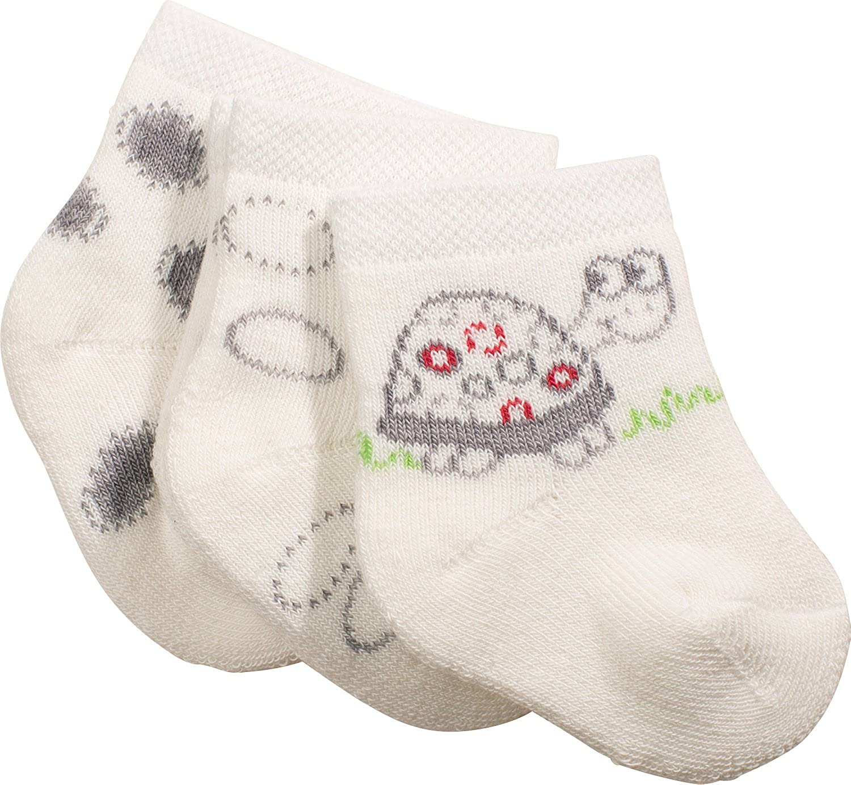 2Pairs Christmas Baby Socks,Zerototens Toddler Infant Baby Boys Girls Cartoon Deer Santa Tree Winter Thermal Fleece Socks Kids Anti-Slip Knitted Boots Socks 0-12 Months