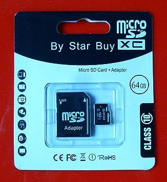 Star Buy - Tarjeta micro SD 10 con protección contra ...
