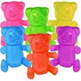 """24"""" Inflatable Gummy Bears Fun Party Decoration In An Assortment Of Colors (6)"""