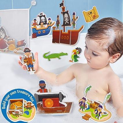 Amazon.com: Aprenda y escale juguetes de baño interactivos ...