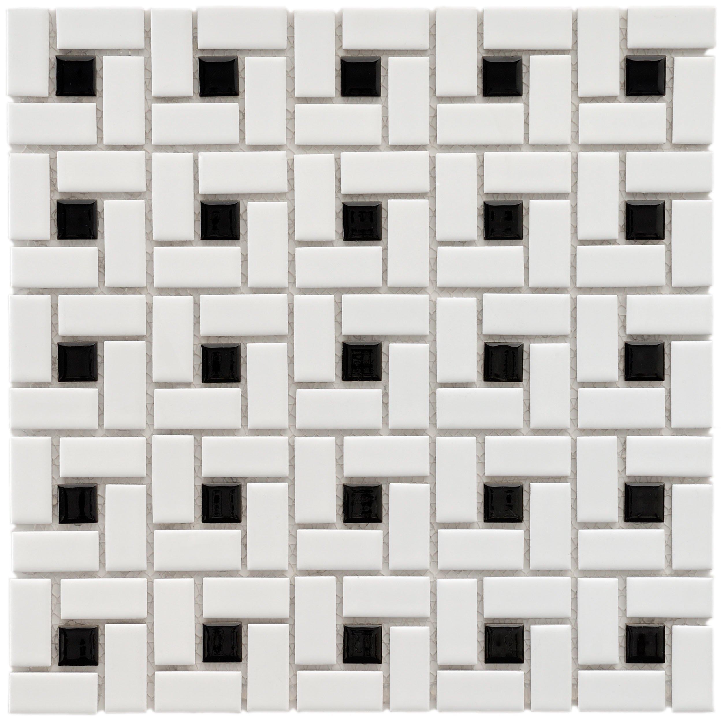 Black And White Floor Tiles Amazon