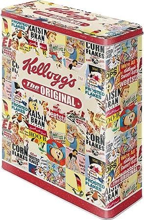 Nostalgic-Art Caja metálica de Estilo Retro - Kelloggs The ...