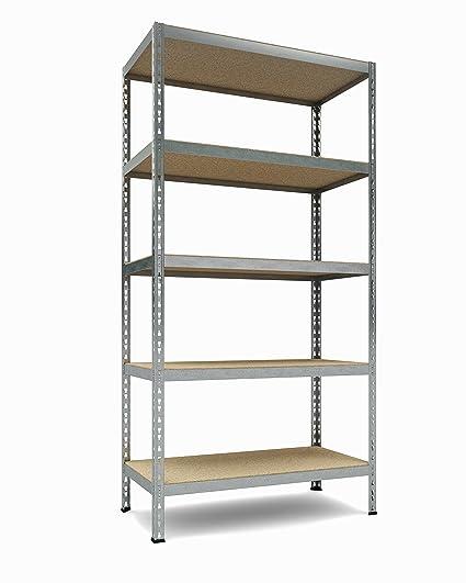 tkt heavy duty shelving 5 shelf shelving unit 1925lbs capacity 36 - Heavy Duty Bookshelves