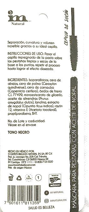 Amazon.com : 2-PAK - IM Natural Hiper Alargadora Mascara ...