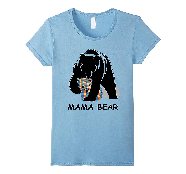 2017 Autism Awareness Mom – Mama Bear TShirt