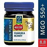 Manuka Health - MGO 550+ Manuka Honey, 100% Pure New Zealand Honey, 8.8 oz (250 g)