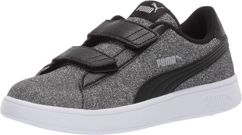 PUMA Unisex-Child Smash Glitz Velcro