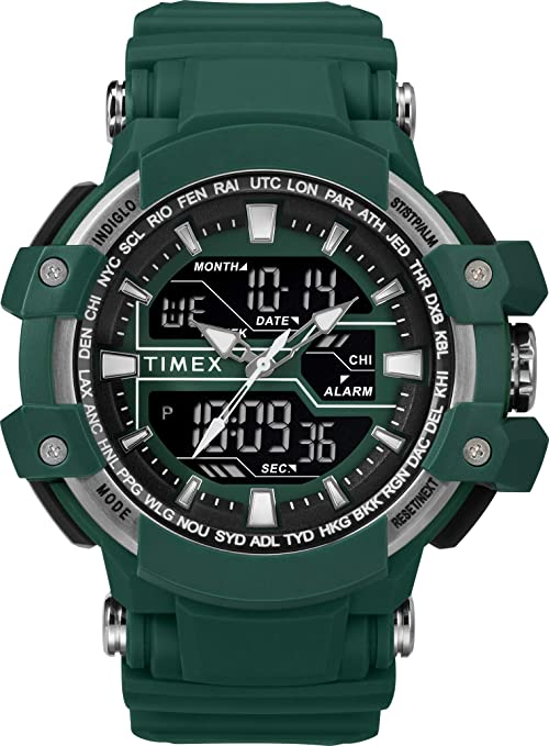 Timex Reloj Hombre de Digital con Correa en Resina