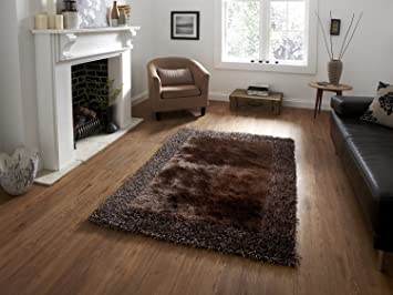 Buy Brand New Hand Loom Modern Border Shaggy Rugs And Carpets For Living Room Hall 2 Feet X 3