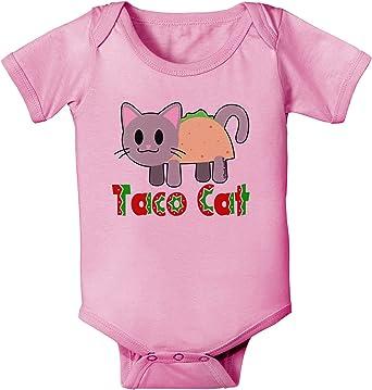 TooLoud Cute Taco Fox Infant T-Shirt Dark