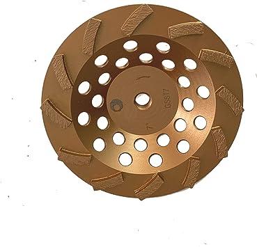 "7/"" Premium Turbo Diamond Grinding Cup Wheel for Concrete Masonry 5//8/""-11 Arbor"