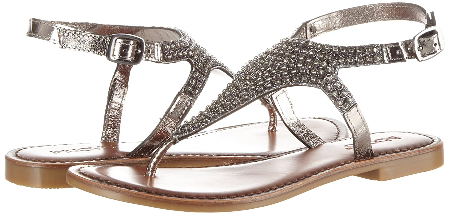 Inuovo (Pewter) Damen 7230 Zehentrenner Silber (Pewter) Inuovo ef0399