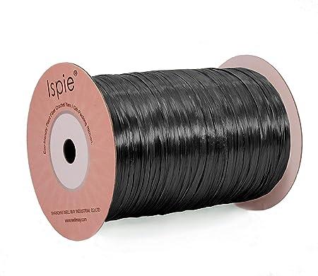 1//4 Black PearlizedRaffia Ribbon