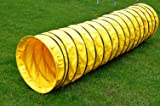"""Cool Runners Agility Tuff Tunnel 10' Long, 8"""" Pitch Manufactured From Rugged 16oz PVC - Ideal for Home Practice"""