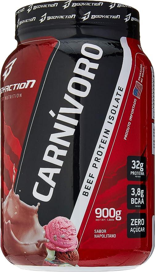 Carnivoro Isolate Beef (900g) - Sabor Napolitano, Body Action por Body Action
