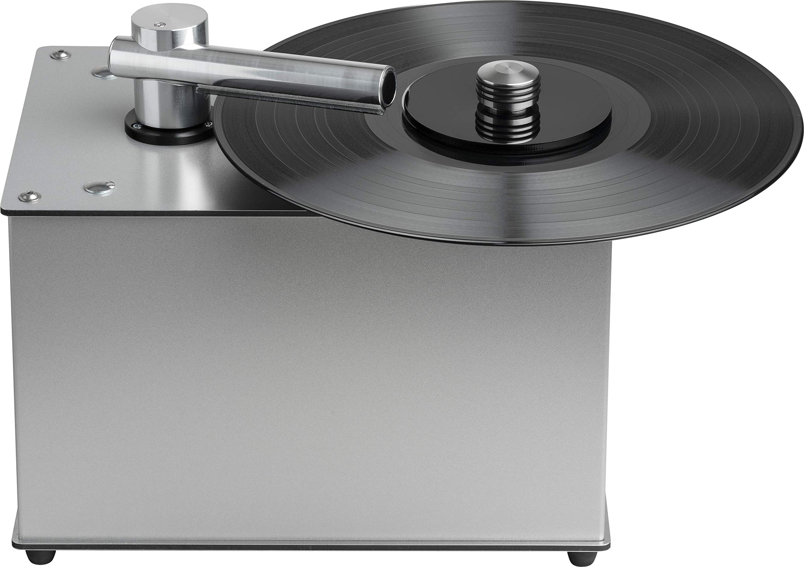 Pro-Ject VC-E, Compact record cleaning machine, Silver