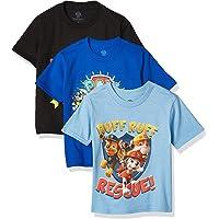 Nickelodeon Toddler Boys' Paw Patrol Pack of Three T-Shirts