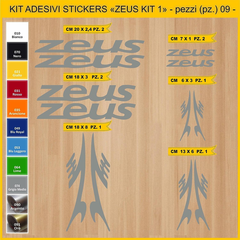 Kit Pegatinas Stickers Bicicleta Zeus -Kit 1-09 Piezas- Bike Cycle ...