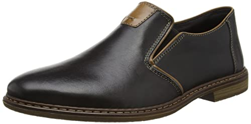 f78660363df57 Rieker 13462 Loafers & Mocassins-Men Black: Amazon.co.uk: Shoes & Bags