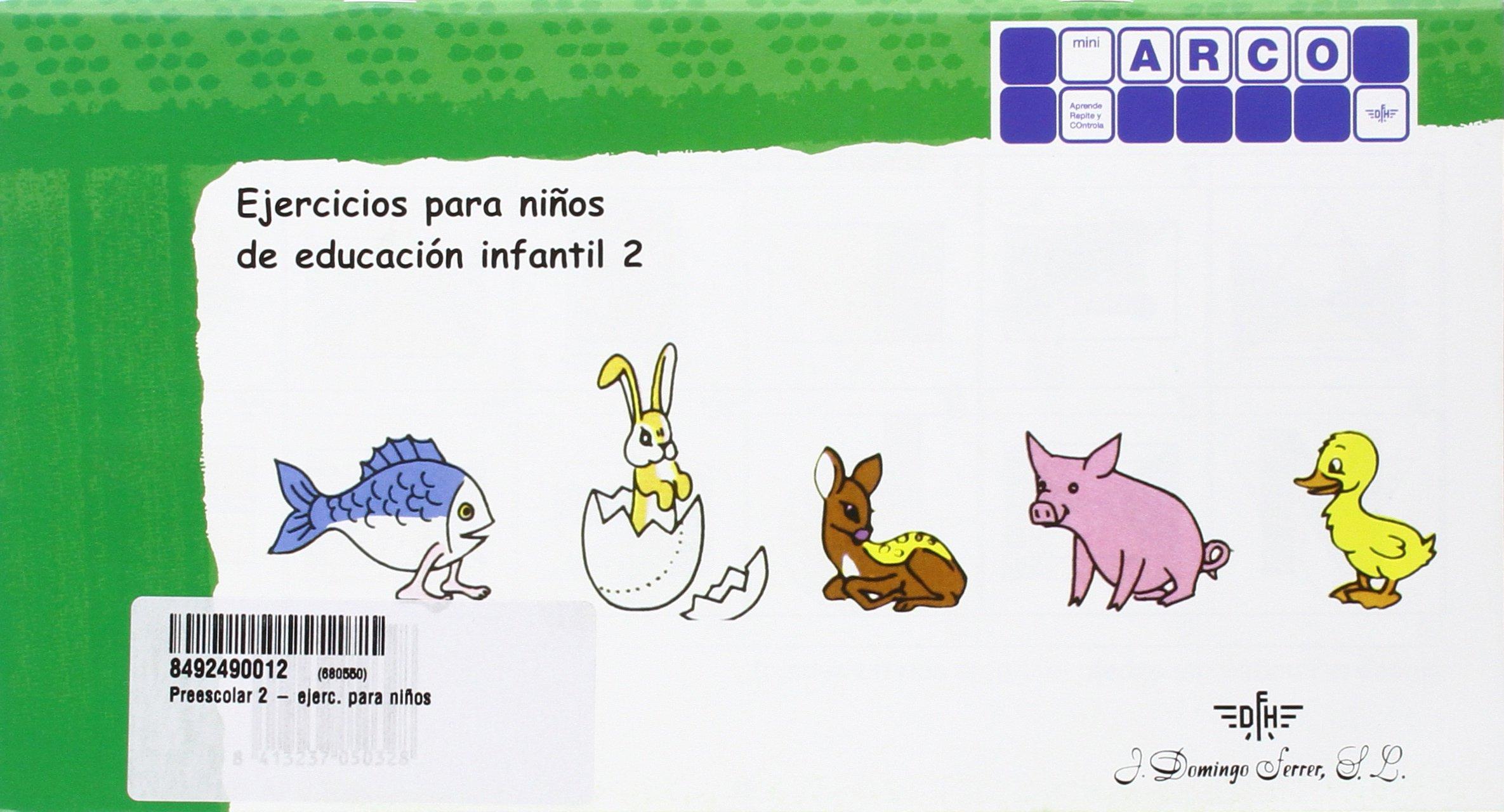 Mini ARCO 2 - Ejercicios para niños de educación infantil - 8413237050328: Amazon.es: AA.VV: Libros