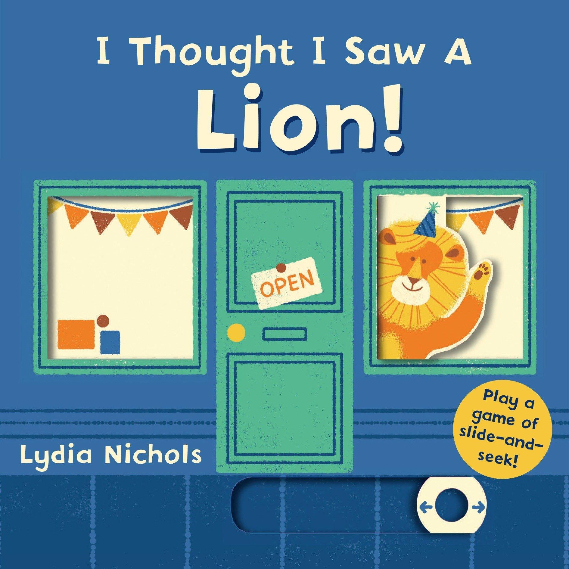 I Thought I Saw a Lion! : Templar Books: Amazon.co.uk: Books