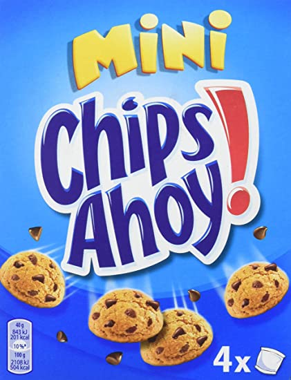 Chips Ahoy! Minis Galleta con Gotas de Chocolate - 160 g ...