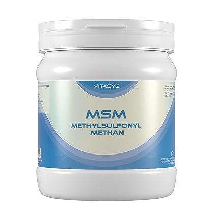Vitasyg MSM Pulver - Methylsulfonylmethan, 99.9 Prozent Reinheitsgrad, 1er Pack (1 x 1 kg)