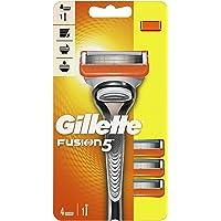 Gillette Fusion5 Maszynka do golenia dla mężczyzn + 3 Blades, z 5 ostrzami zmniejszającymi tarcie, golenie, którego…