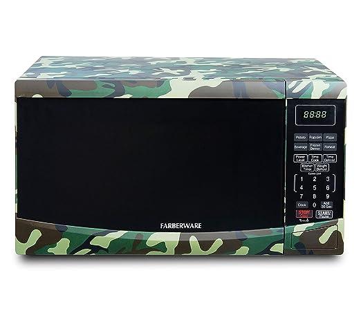 Farberware FMO09BBTCFA 0.9 pies cúbicos Horno microondas 900 W ...