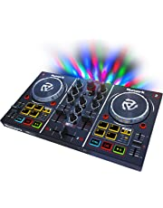 Numark 66/PARTYMIX Party Mix DJ Controller with Built in Light Show