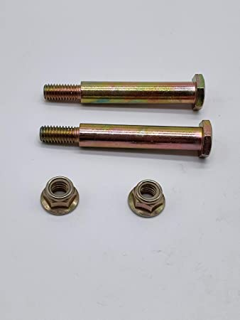 YiYuanG Replacement Deck Wheel Bolts /& Lock Nuts for 73930600 738-3056 938-3056 137644 184219 193406