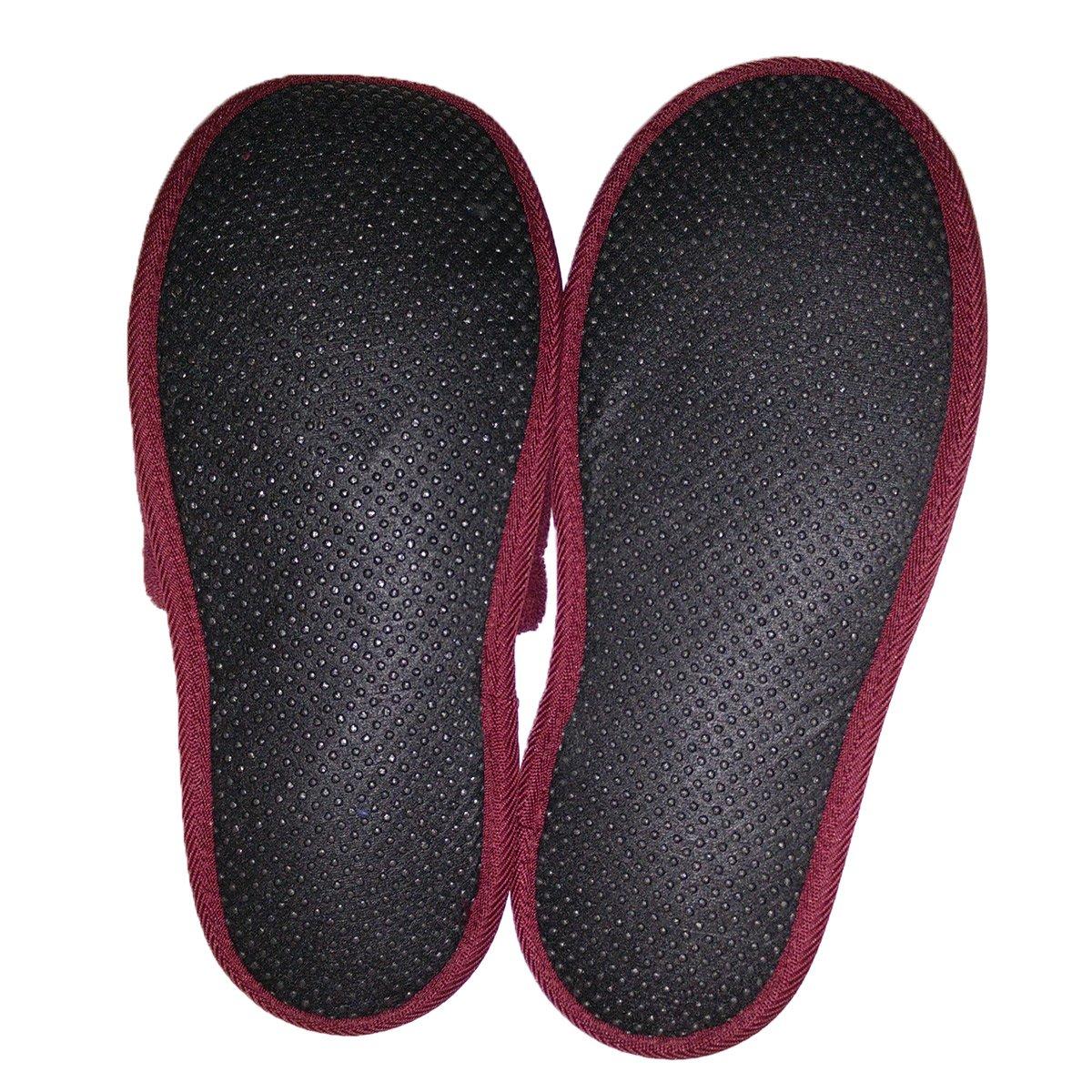 n/úmero de Zapato 43-46 100/% algod/ón Talla Unica 2 Pares Zapatillas de ba/ño de Rizo para Mujeres