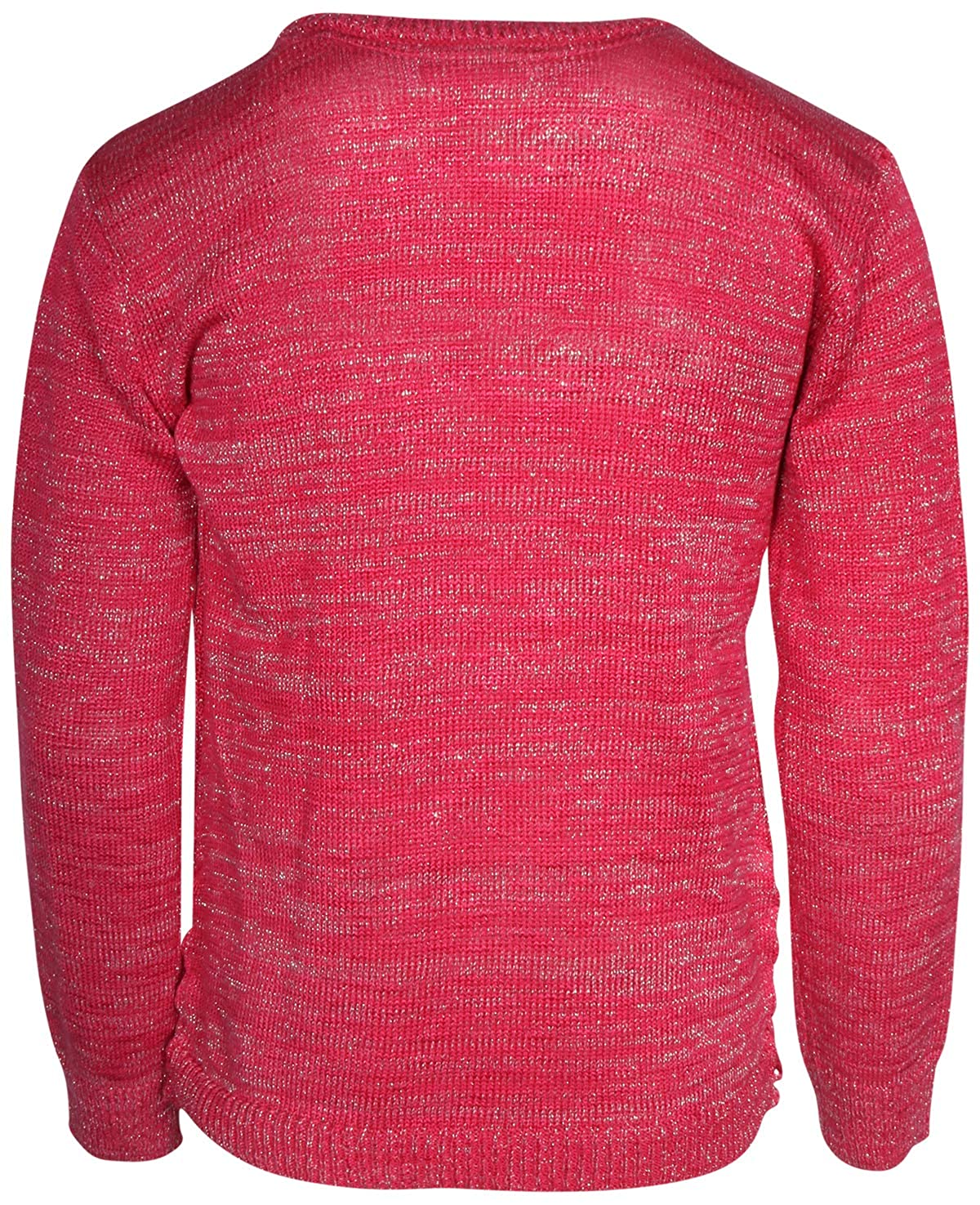 DKNY Girls Long Sleeve Fashion Pullover Sweater
