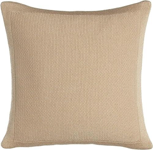Ralph Lauren Woven Deauville Throw Pillow Gold Color