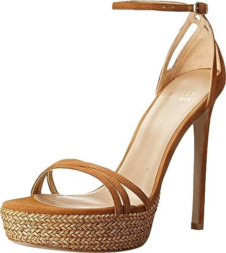 b48b17f114d Amazon.com  Stuart Weitzman Women s Whichway Platform Sandal  Shoes