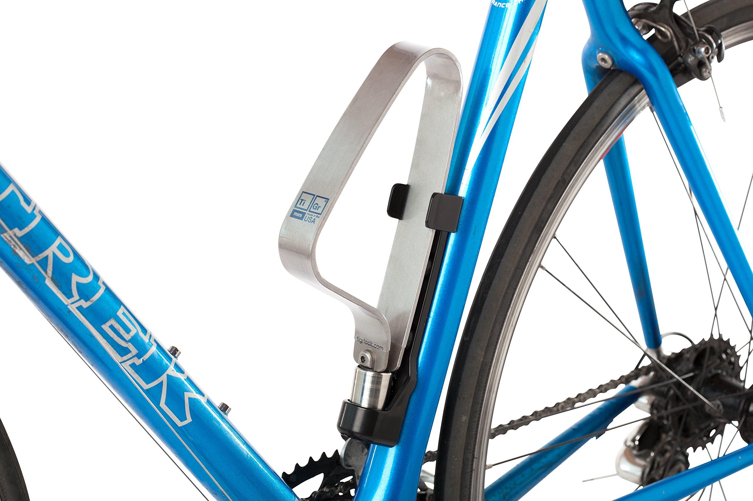 TIGR mini Lightweight Titanium Bicycle Lock & Mounting Clip by TIGR (Image #2)