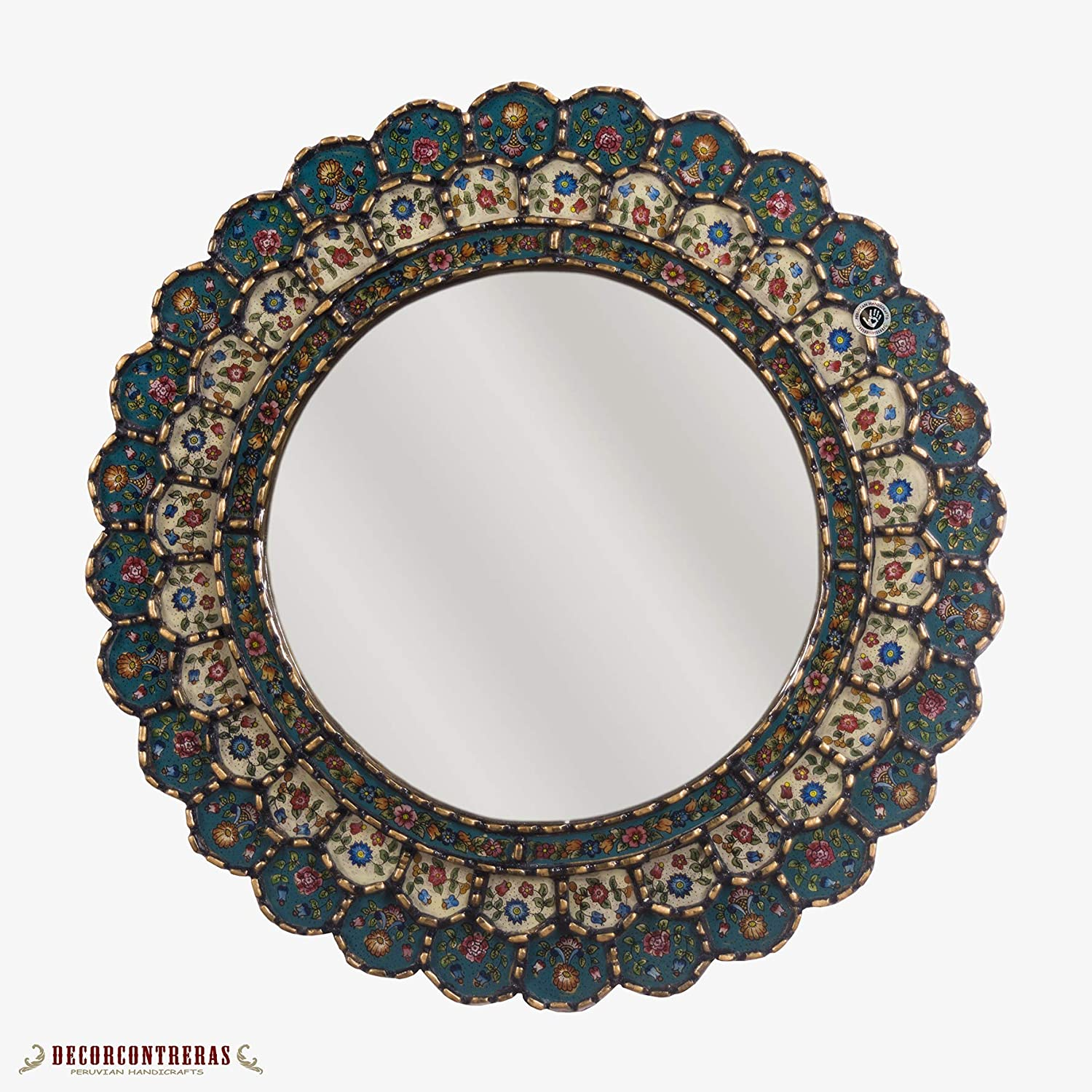 Peruvian Wall Accent Mirror