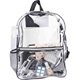 Amazon Com Clear Backpack With Smooth Plastic Completely