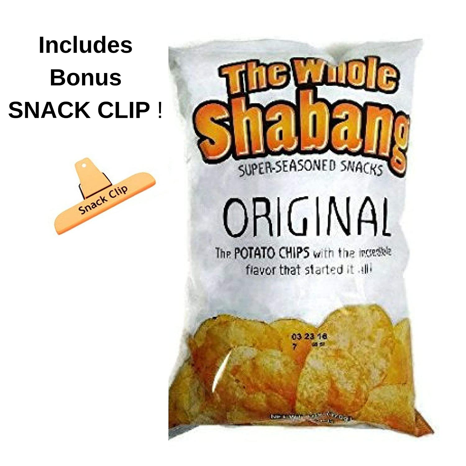 The Whole Shabang Potato Chips - (1) - 6 oz  Bag
