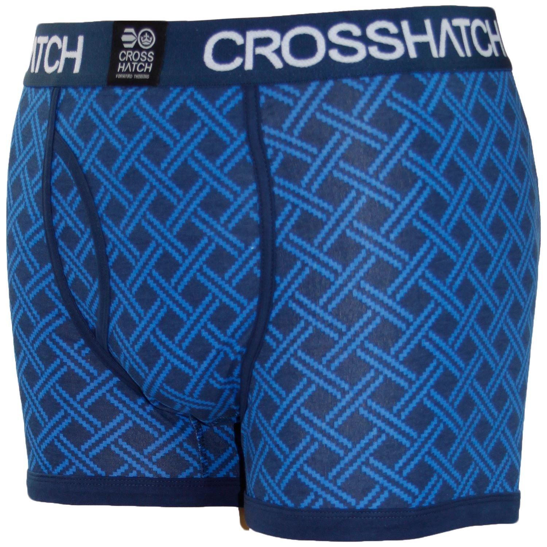 Crosshatch Mens RGB Designer Underwear Boxer Shorts Pack of 3 CH110346TTB