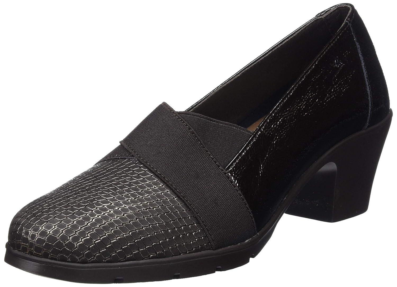 TALLA 38 EU. 24 HORAS 23766, Zapatos de tacón con Punta Cerrada para Mujer