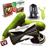Delightful Chef Spiralizer Vegetable Slicer Zucchini Spiral Spaghetti Pasta Noodle Maker