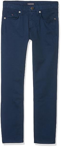 4a8561e4d07fd Tommy Hilfiger Pantalones para Niños  Amazon.es  Ropa y accesorios