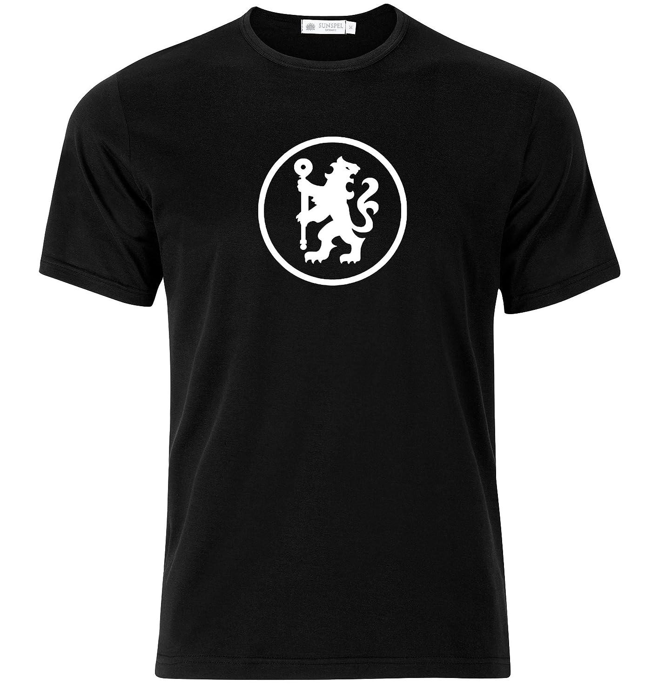 Modern Look Black SSTS Print STSS Chelsea FC Soccer 5.5 Team Logo Design T-Shirt