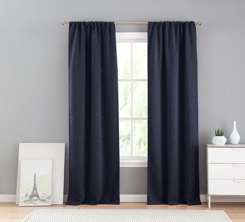 Bash Davis Window Curtains Lala Navy
