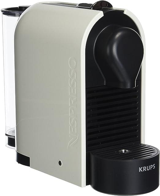 Krups YY1301 Nespresso U - Cafetera con 16 Cápsulas, color blanco ...